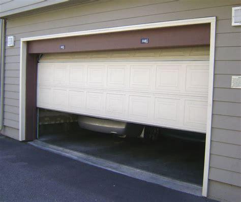 Securing Up And Garage Door by Securing Garage Doors Garage Security Tips