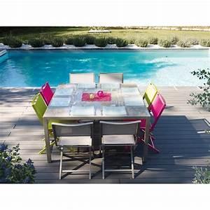 Table Pliante Bricorama : chaise pliante coloris anis sydney chaises de jardin ~ Melissatoandfro.com Idées de Décoration