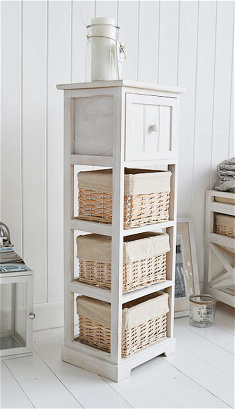 cape  slim white bedroom storage furniture