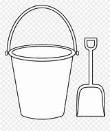 Clipart Bucket Shovel Coloring Sand Printable Template Spade Transparent Helpful Fishing Sketch Webstockreview Clipartkey Kindpng Colorable sketch template