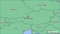 Where is Salzburg, Austria? / Salzburg, Salzburg Map ...