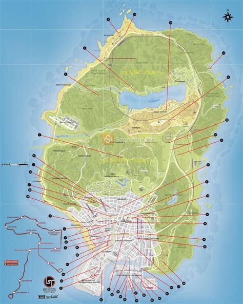 Gta 5 Stunt Jumps Locations Map And Video Guide Segmentnext