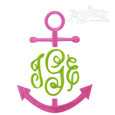 Boat Anchor Designs by Anchor Boat Frame Embroidery Designs