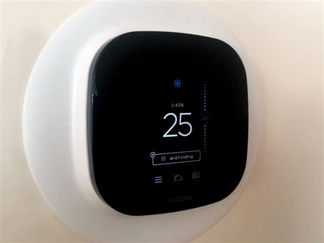 installing and setting up the ecobee3 smart thermostat