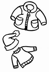 Clothes Winter Draw Line Clipart Drawings Coloring Pages Warm Drawing Clip Cliparts Sheep Clothing Outfit Outfits Library Ikidsdrawing sketch template