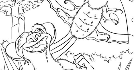 Buck From Ice Age Coloring Pages For Kids, Printable Free