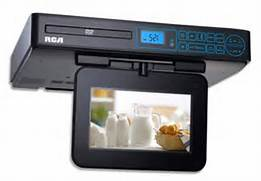 Polaroid Under Cabinet Tv Dvd Radio by Under Cabinet Kitchen TVs RCA SPS36073 7in TV DVD Combo