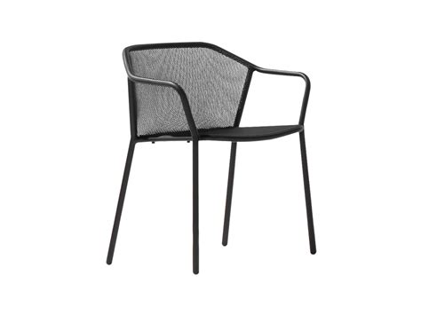 chaise emu chaise en acier avec accoudoirs collection darwin by emu