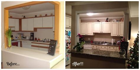 before and after giani granite transformation using the