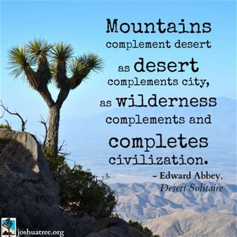edward abbey desert solitaire quotes nature quotes