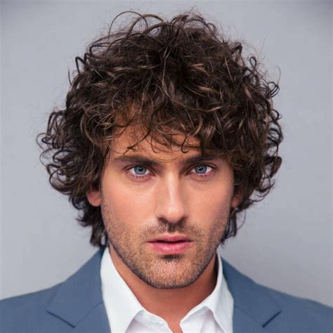 40 Modern Men's Hairstyles for Curly Hair (That Will