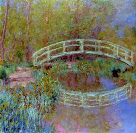 le pont japonais dans le jardin de monet art print by