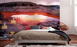 Bild Fürs Schlafzimmer : tapeten f rs schlafzimmer bei hornbach schweiz ~ Michelbontemps.com Haus und Dekorationen