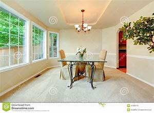 Salle A Manger De Luxe : salle manger de luxe avec la porte fen tre photo stock image 47680176 ~ Melissatoandfro.com Idées de Décoration