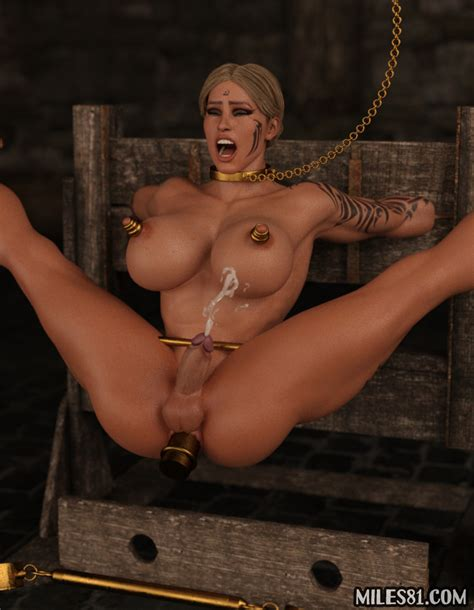 Princess Forced To Orgasm In Bondage By Miles81 Hentai