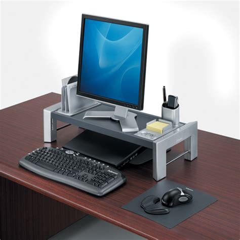 Support Pc Bureau - support pour écran d 39 ordinateur hauteur réglable vilacosy