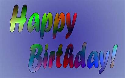 Birthday Happy Background Wallpapers Party Congratulations Celebrate