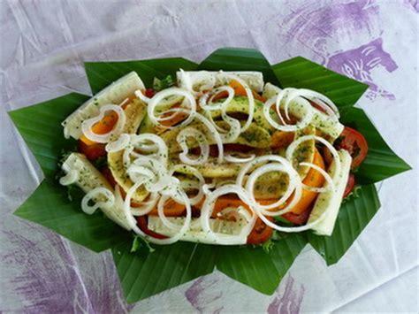recette de cuisine cote d ivoire la recette de la salade exotique