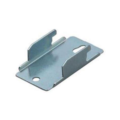 rod desyne rod wall bracket in satin nickel set of