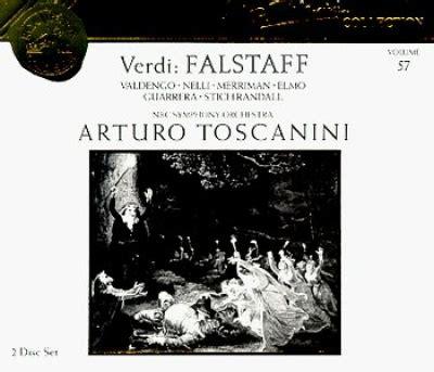 Verdi Falstaff  Herva Nelli, Arturo Toscanini, Giuseppe