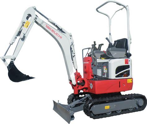 tbr micro compact excavators products website takeuchi mfg