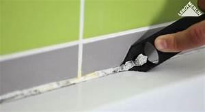 Enlever Joint Silicone : comment poser un joint en silicone en 2 tapes frizbiz ~ Melissatoandfro.com Idées de Décoration