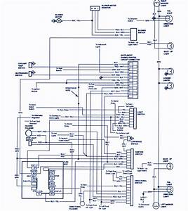 1988 Ford Bronco Wiring Diagram