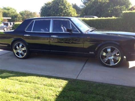 bentley turbo r custom find used 1990 bentley turbo r exceptional luxury sedan