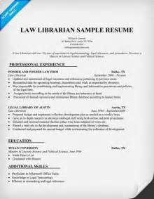 librarian resume sle http resumecompanion