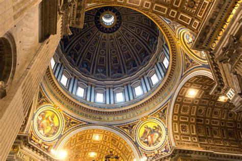 quanto è alta la cupola di san pietro la basilica di san pietro vaticano