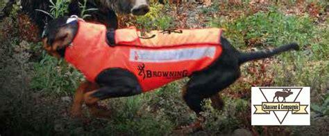 protection siege auto chien gilet de protection browning cano concept de chien de chasse