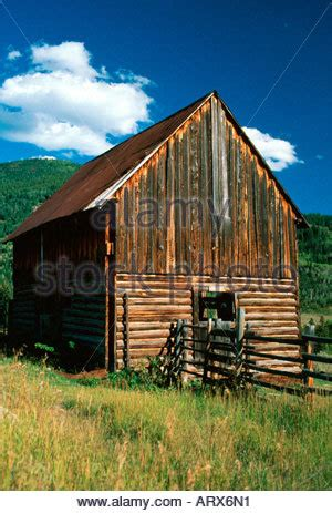 Steamboat Springs Barn by Historic Creek Barn Near Steamboat Springs Co Usa