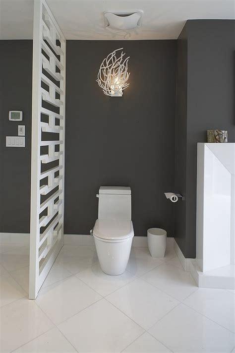 fancy privacy options   bathroom