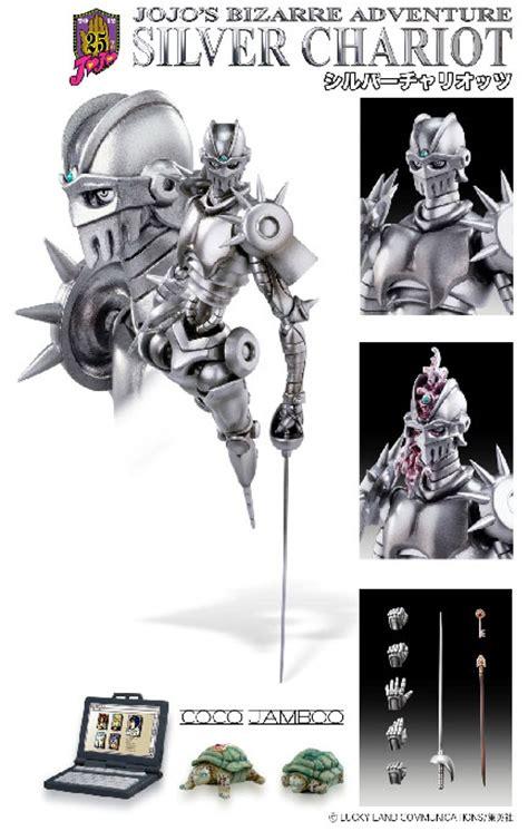 part 5 jojo anime release date jojo statue silver chariot part 5 version