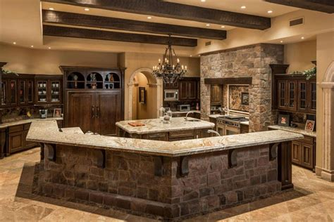 custom made kitchen islands 35 beautiful rustic kitchens design ideas designing idea
