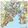 New Haven Connecticut Street Map 0952000