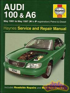 Audi A6 100 Shop Service Repair Manual Haynes Book Ie