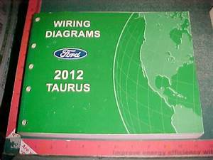 2012 Ford Taurus Wiring Diagrams Manual Mint New