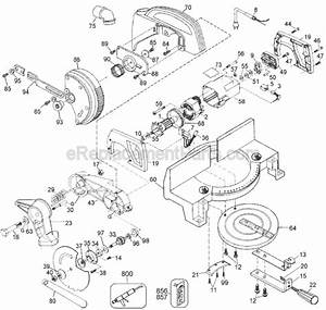 Black And Decker 1710 Parts List And Diagram