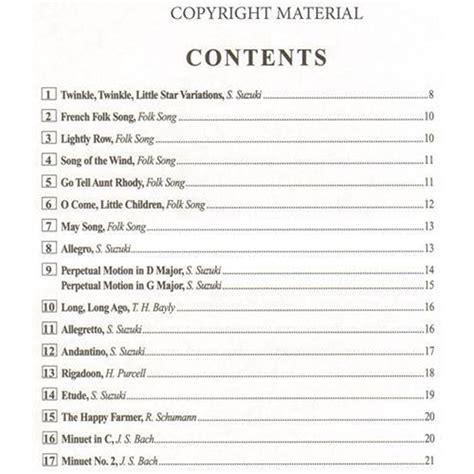 Suzuki Book 2 Songs by Suzuki Cello School Volume 1 Shar Sharmusic