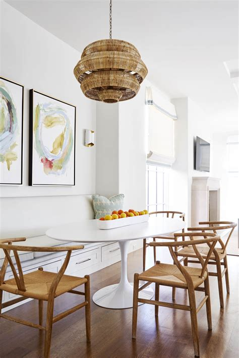 tulip tables   chic dining room