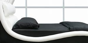 Designer Bett 200x200 : designer polsterbett doppelbett lederbett leandro 200x200 bettgestell bett n0wb ebay ~ Indierocktalk.com Haus und Dekorationen