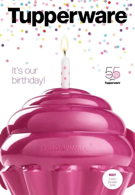 Birthday Month is here! May 2   30th 2016   Tupperware