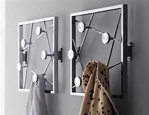 Porte Manteau Mural Moderne : choisissez un porte manteau mural originel ~ Teatrodelosmanantiales.com Idées de Décoration