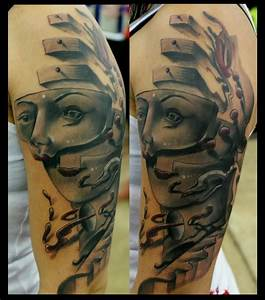 The Rebirth Of St. Erika by Hector Cedillo: TattooNOW