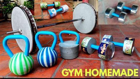 homemade dumbbells diy barbells gym kettlebells barbell dumbbell equipment