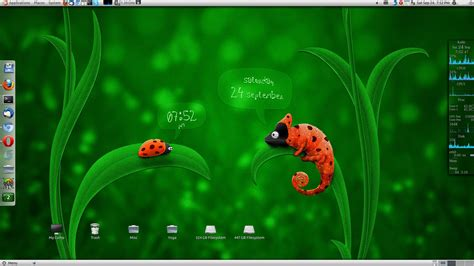 Live Wallpaper For Linux Ubuntu by Live Wallpaper In Ubuntu Linux Using Wallpaper Clock