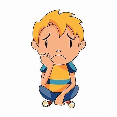 Sad Kid Clipart Child Abuse Vector Clip