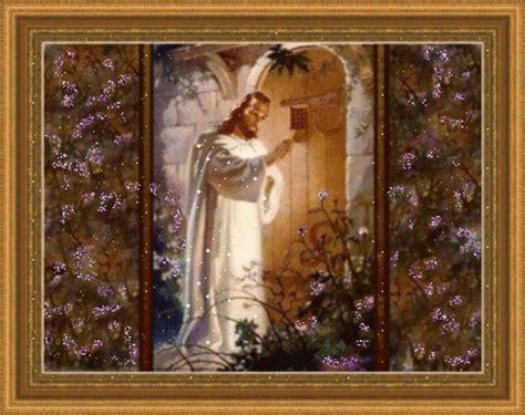 jesus knocking at the door painting jesus knocking on hearts door joyful226 picture 116645468