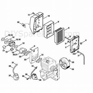 Stihl Br 420 Backpack Blower  Br 420  Parts Diagram  Air